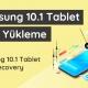 Samsung tablet ROM yükleme