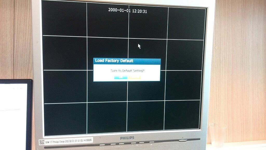 Samsung DVR Şifre Sıfırlama Fabrika Ayarlarına Döndürme