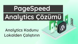 Google Hız Testi Analytics.js Çözümü