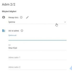 Google Cloud ücretsiz deneme hesap türü