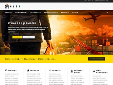 Myra Gümrük Web Tasarım