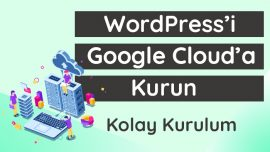 WordPress'i Google Cloud'a Kurun