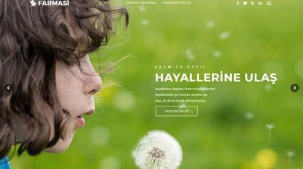 Farmasi üyelik web tasarım