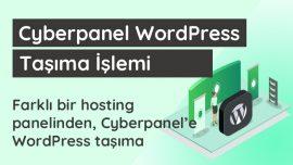 Cyberpanel WordPress Taşıma