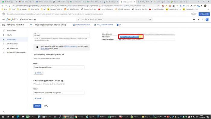 Gmail altyapısını kullanarak WordPress mail gönderme
