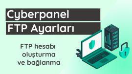Cyberpanel FTP Ayarları
