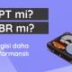 GPT mi MBR mi
