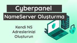 Cyberpanel Nameserver Oluşturma